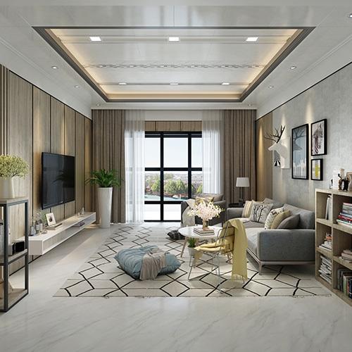 上城现代客厅