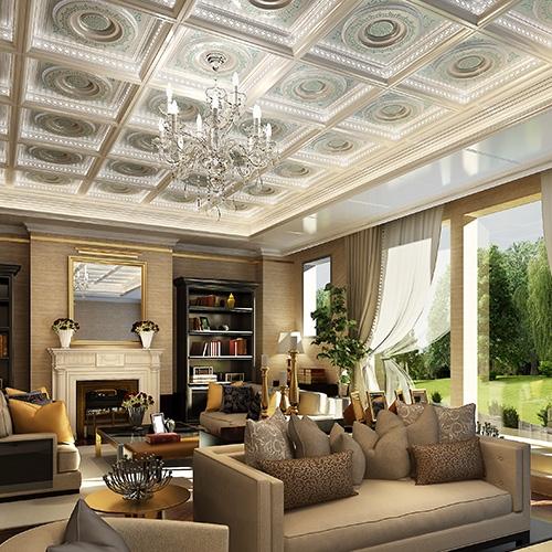 上城美式客厅