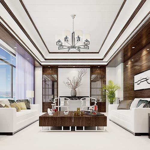 上城中式客厅